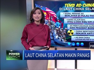 Laut China Selatan Makin Panas