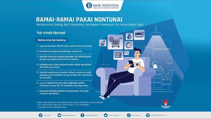 Ramai-ramai Pakai Nontunai/Bank Indonesia
