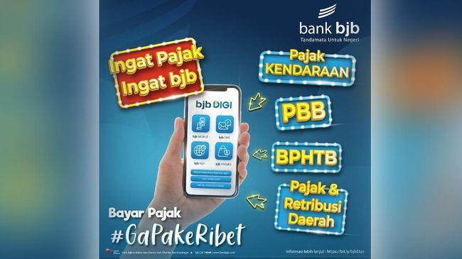 BJBR DIGI Tak Perlu Repot, bank bjb Bikin Terobosan Bayar Pajak