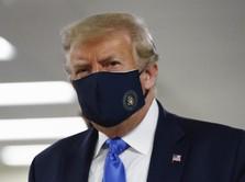 Trump Bikin Geger! Pamer Foto Pakai Masker, Sebut Patriot AS