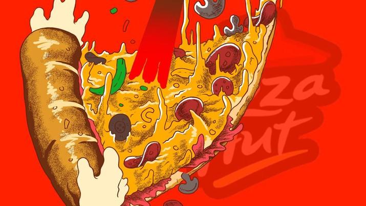 Infografis/58 tahun eksis, heboh Pizza hut bangkrut!/Aristya Rahadian