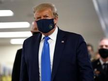 Trump Positif Corona & Pernyataannya yang Remehkan Covid-19