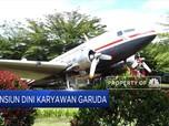 300 Karyawan Garuda Sudah Ambil Tawaran Pensiun Dini