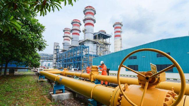 PGAS PGN Salurkan Gas Perdana ke Pupuk Kujang Cikampek