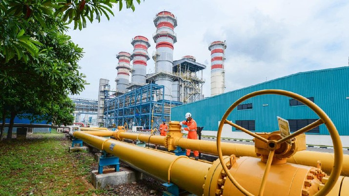 PGN Komitmen Laksanakan Penugasan Pasokan Gas untuk Pembangkit listrik PLN. Ist