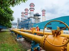PGN Salurkan Gas Perdana ke Pupuk Kujang Cikampek