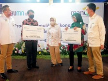 Demi PEN, Bank Mandiri Salurkan Rp 3,5 M kepada UMKM di Bogor