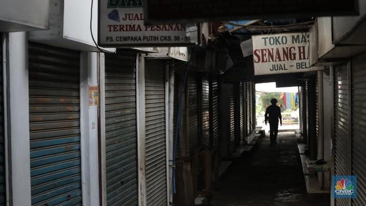 Ilustrasi pasar Cempaka Putih. (CNBC Indonesia/Muhammad Sabki)