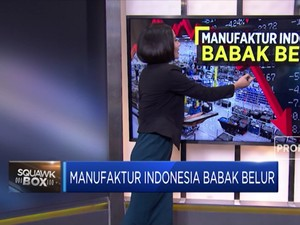 Manufaktur Indonesia Babak Belur