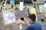 Intip Demo di Depan DPR Tolak Omnibus Law Cipta Kerja