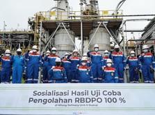 Uji Coba Sukses, Pengembangan Energi D-100 Butuh Insentif