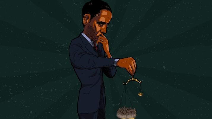 Infografis: Pak Jokowi Tolong, Penduduk Miskin Tambah 1,28 Juta Orang