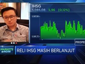 Neraca Dagang Juni Surplus, IHSG Berpeluang Lanjutkan Reli