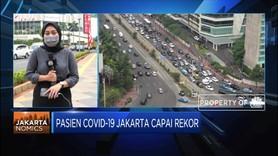 Pasien Covid-19 Jakarta Capai Rekor Tertinggi Selama Pandemi