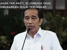 18 Lembaga Negara yang Mau Dibubarkan Jokowi Mulai Terungkap