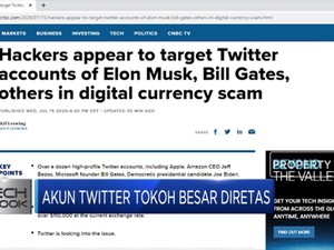 Akun Twitter Tokoh Terkemuka Dunia Diretas