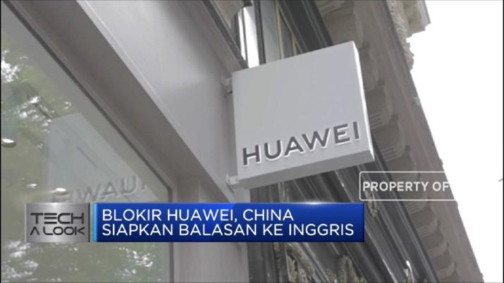 Blokir Huawei, China Siapkan Balasan ke Inggris (CNBC Indonesia TV)