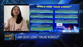 Raup Laba Sehat Lewat 'Online Workout'