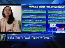 Raup Laba Sehat Lewat 'Online Workout'