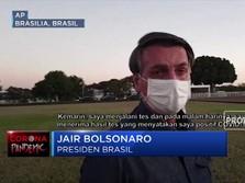 Presiden Brasil: Vaksin Covid-19 Ubah Orang Jadi Buaya
