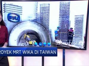 WIKA Akan Bangun 13 Stasiun MRT di Taiwan