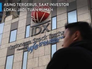Saat Investor Lokal Jadi Tuan Rumah di Bursa Saham BEI