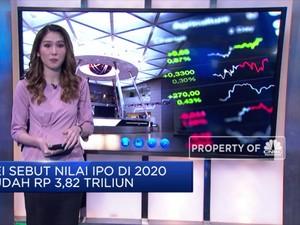 BEI Sebut Nilai IPO di 2020 Sudah Rp 3,82 Triliun