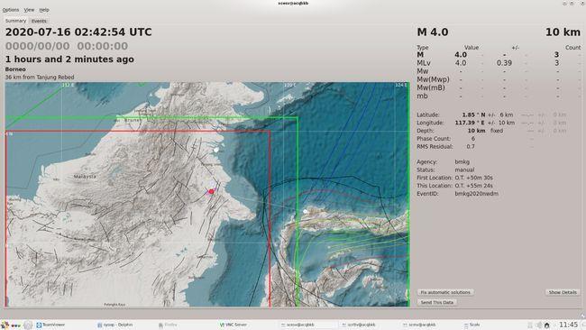 Waspada Kalimantan Ada Potensi Gempa Besar Calon Ibu Kota