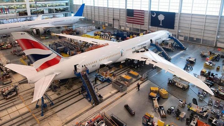 Boeing 747 british airways. (IG: britishairwayspr)