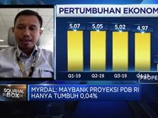 Ekonom Maybank: Ekonomi Melambat, PDB RI 2020 Tumbuh 0,04%