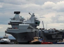 Kapal Selam China Kuntit Kapal Inggris di Laut China Selatan