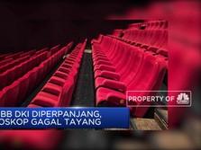 PSBB DKI Diperpanjang, Bioskop Gagal Tayang