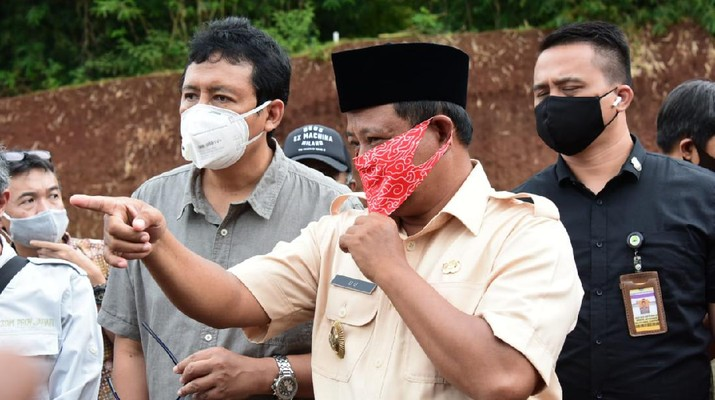 Tambang ilegal di Bekasi Ini ditutup Pemprov. Ist