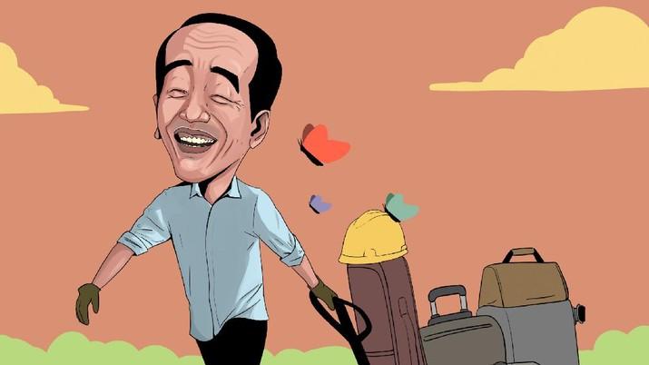 INFOGRAFIS, Jokowi Happy 7 Pabrik Relokasi ke RI Mulai Dibangun