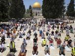 Parah, Israel Larang Warga Palestina Salat Jumat di Al-Aqsa