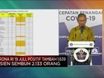Corona RI 19 Juli, Positif Tambah 1.639, Sembuh 2.133 Orang