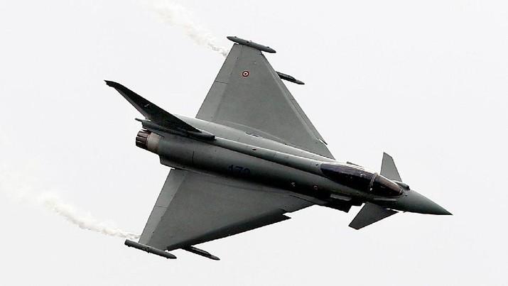 Jet Tempur jenis Eurofighter Typhoon (File Photo AP)