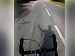 Cerita Mahasiswa Pulang Kampung Bersepeda 48 Hari