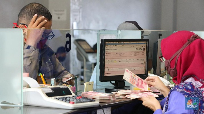 Ilustrasi Penukaran Uang (CNBC Indonesia/Andrean Kristianto)