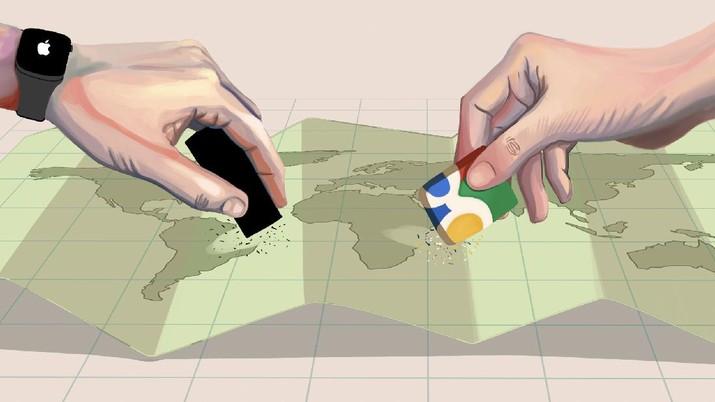 INFOGRAFIS, Daftar Negara yang 'Hilang' dari Peta Dunia