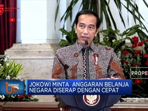 Jokowi Minta Anggaran Belanja Negara Diserap Cepat