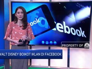 Setelah Unilever DKK, Disney Boikot Iklan di Facebook