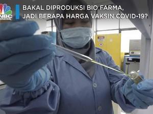 Bakal Diproduksi Bio Farma, Berapa Harga Vaksin Covid-19?