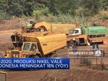 H1-2020, Produksi Nikel Vale Indonesia Meningkat 18% (YoY)