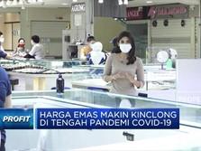 Harga Emas Makin Kinclong di Tengah Pandemi Covid-19