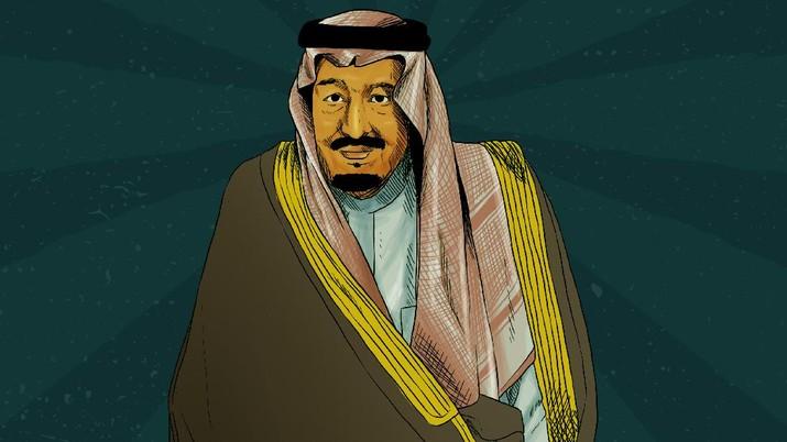 Infografis: Mengenal Raja Salman, Penguasa Arab Penjaga 2 Kota Suci