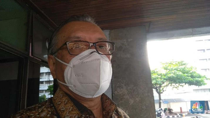 Ketua LPS Halim Alamsyah (CNBC Indonesia/Cantika Dinda)