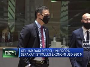 Lolos Resesi, Uni Eropa Sepakati Stimulus Ekonomi USD 860 M