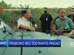 Menhan Prabowo Pesan 500 Kendaraan Taktis Pindad