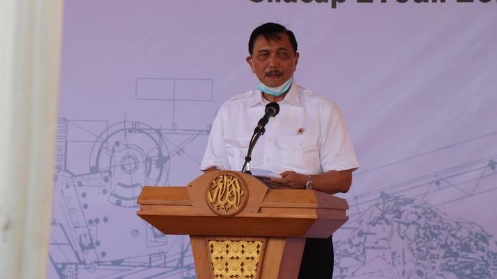 Menko Maritim dan Investasi Luhut Binsar Pandjaitan (Dok. Kemenko Marves)